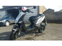 KYMCO AGILITY 50 *LOW MILEAGE* MOPED SCOOTER