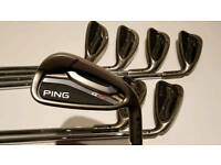 Ping g25 irons. 5- SW
