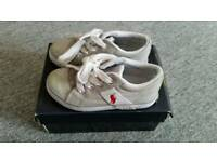 Polo Ralph Lauren infant trainers size