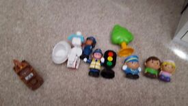 Happyland figures and others