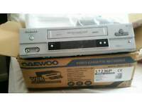 Daewoo Video Cassette Recorder ST236P VHS Brand New