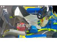 Comer w60 kart engine tagged and sealed