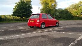 Nissan micra super s rep rare modified