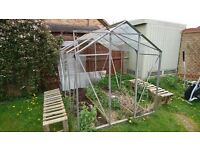 Greenhouse frame 6x8
