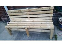 Bench x bench with table