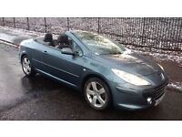 peugeot 307 cc convertible sport hdi turbo diesel 2007 07 plate