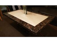 Solid Granite Marble Table