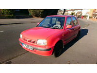 1993 Nissan Micra 1.3 Auto Petrol Red Hachback