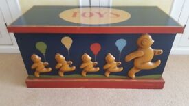 Unusual Wooden Toy Box