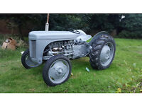 Ferguson TEF 20 1950's Well Restored Vintage Tractor (Ride-On Mower)
