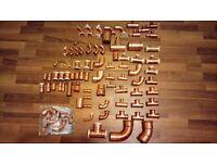 Geberit mapress copper fittings joblot