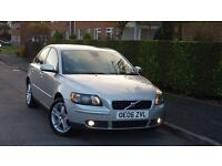 VOLVO S40 1.6 DIESEL MANUAL +2 KEYS+F/S/H+5 DOOR ++NEW ENGINE FITTED WITH 55K ON CLOCK++LONG MOT++