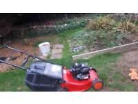 Lawnmower petrol Briggs an strattion