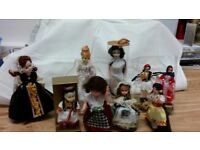 Collection of dolls. Free to good home Shown just part of collection