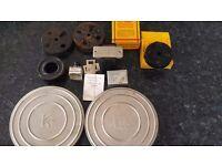 Vintage Kodak 400ft Metal 16mm Film Reel and more