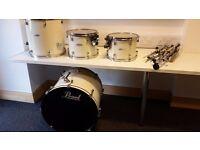 Pearl Forum Drum Kit - White