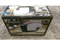 Brand new in box Eleganto two slice toaster