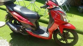 Redused price 125cc symphony SR low mileage in fantastic condition