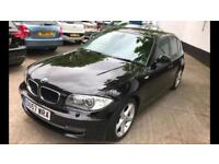 BMW 120d SE in black with LSI UPGRADE and Sat Nav (Rare to find with spec)