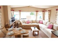 LUXURY 2 BEDROOM STATIC CARAVAN FOR SALE, SLEEPS 6