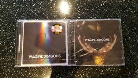 Imagine dragons CD album x2
