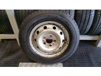 195 70 15 C Citroen steel wheel with tyre Firestone Vanhawk