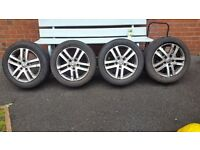 "Vw Mk6 golf 16"" alloys"