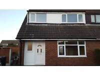 3 bedroom semi detached family home to rent