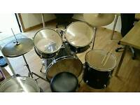 Drum kit for sale. Can deliver locally. Open to offers.
