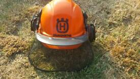 Husqvarna Hard Hat / Face Guard / Ear Defenders and Gloves
