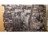 CANVAS IKEA PRINT OF NEW YORK