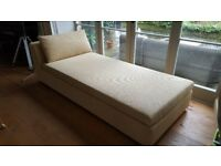Day Bed / Chaise Longue with Divan Storage