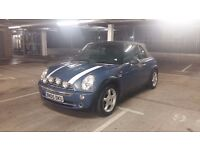 Mini Cooper Convertible with a gear box issue