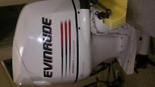 Near New 135hp Evinrude Outboard Suit Fishing Tinny Tinnie Boat Arundel Gold Coast City Preview