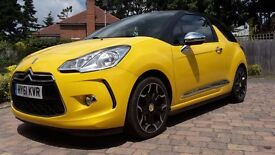 Citroen DS3 1.6 THP DSport Plus 3dr - Yellow with Black Roof. Immaculate Car Inside and Out!
