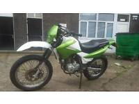 Honda xr125 learner legal, road legal trials bike, enduro.