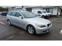 BMW 525 SE TOURING AUTOMATIC TOP CONDITION FULL SERVICE HISTORY PERFECT CAR WARRANTY IS AVAILABLE