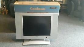 """20""""led tv (no power cable and remote)"""