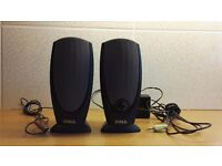 Dell A215 Computer Speakers & Yamaha Subwoofer