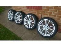 "Audi vw 18"" rs4 rep alloys"