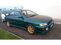 Subaur Impreza 2.0 GL, 2001, spoiler, mot, serviced, new clutch and timing belt 2015