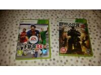 Xbox360 fifa13 and gears of war 3 immaculate
