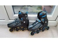 Adjustable inline skates size 3-6