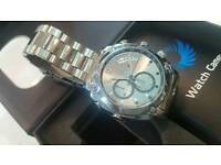 Intelligence Spying Wrist Watch 16Gb usb chargeable new boxed with manual