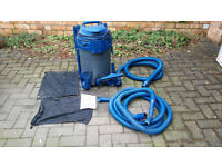 Pond Vacuum cleaner: Bermuda 'Pondi' Vacuum System BER176, with full accessories and instructions