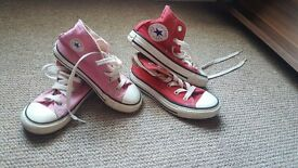 Bundle of girls shoes (kids) size 10