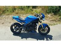 Triumph speed triple not ktm Aprilia Honda
