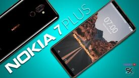 NOKIA 7 Plus Brand NEw in BOX unwanted present £275 ONO