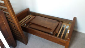 Solid Wooden Cot Bed