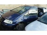 Volkswagen sharan 1.9diesel 2002reg breaking for parts